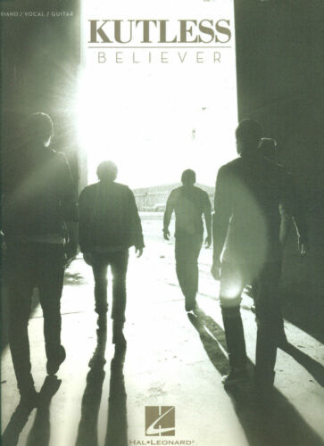 Kutless Believer Piano Vocal Guitar Book NEW! OUT OF PRINT!