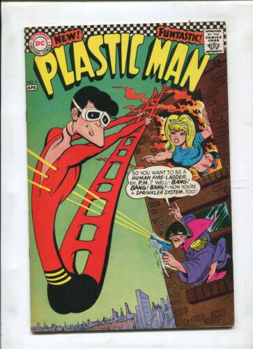 PLASTIC MAN #3 (8.5) HUMAN FIRE LADDER!