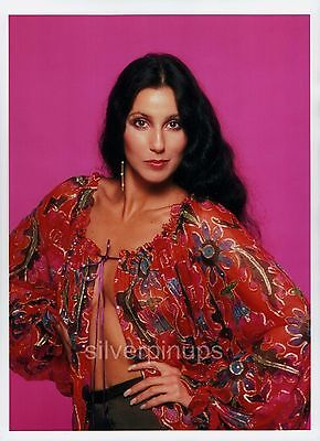 Orig 1970's CHER Disco Beauty.. FASHION Portrait by HARRY LANGDON