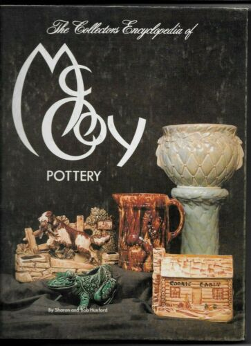 Collectors Encyclopedia Of McCoy Pottery, Huxford, 239 Pages, Hard Cover, 1978