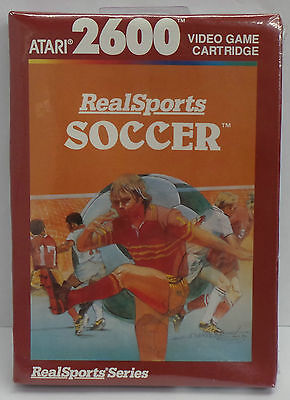 ATARI 2600 Realsports SOCCER Video Game Cartridge 1982 - NEW (VINTAGE & RARE)