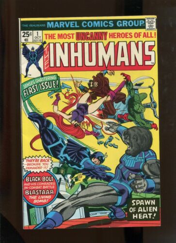 INHUMANS #1 (8.5) SOLO SERIES