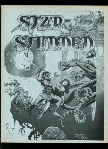 Star Studded #18 (1972 Fanzine) VFNM Starlin Cockrum Fritz Wong Dr Weird Un-Man
