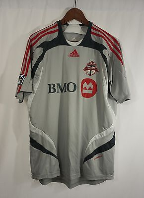TORONTO FC SOCCER JERSEY - LARGE 2007/2008 Adidas MLS football/shirt image