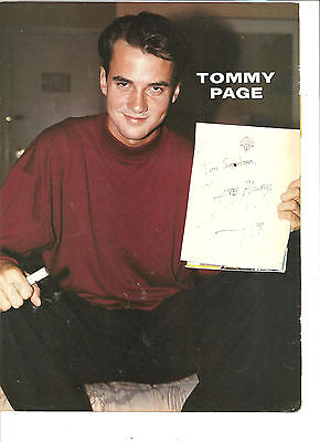 Tommy Page, Full Page Vintage Pinup