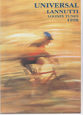UNIVERSAL LANNUTTI CYCLE / BICYCLE BROCHURE 1998 - LOONEY TUNES