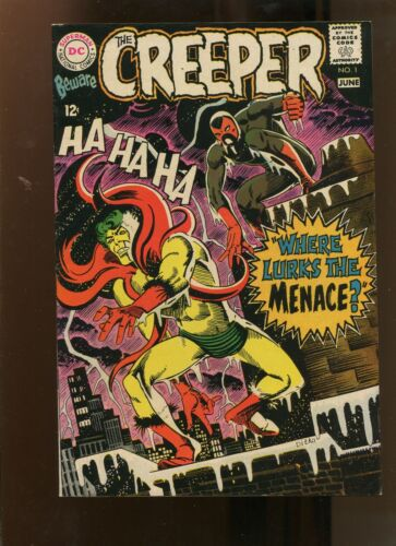 THE CREEPER #1 (6.5) WHERE LURKS THE MENACE! 1968