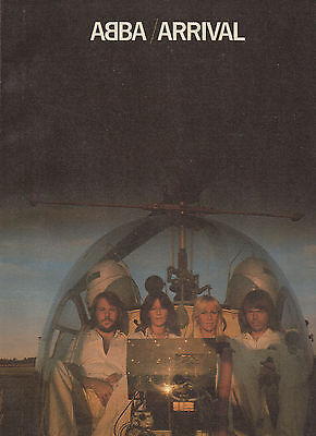 Abba songbook Arrival 1977 55 pages w/ pictures, article (VG+ shape)