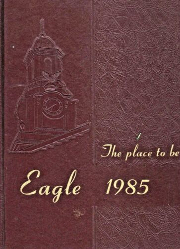 1985 Cookeville Tennessee Technological University-Original Yearbook-Eagle