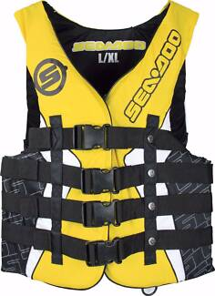 Sea-Doo Life Jacket/Vest Yellow S,M,L,XL,2XL,3XL.