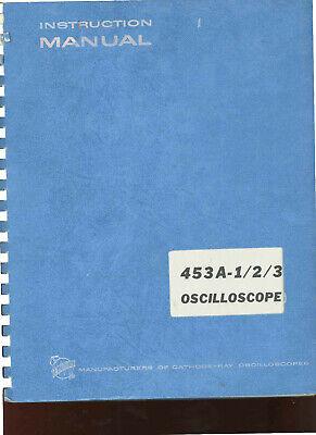 Tektronix 453a-1-2-3 Oscilloscope User Service Manual