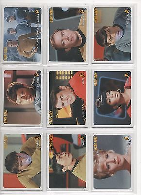 STAR TREK T.O.S 40TH ANNIVERSARY SERIES 2 FULL 110 CARD BASE SET