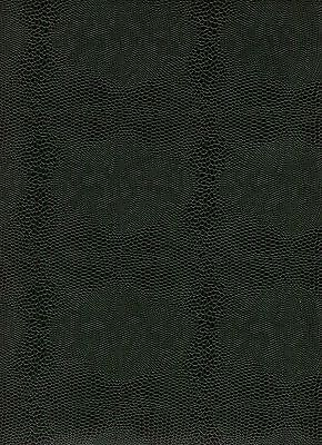 Eidechsenpapier / Überzugspapier / Vorsatz 1 Bogen 50 x 70 cm dunkelgrün