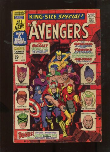 THE AVENGERS ANNUAL #1 (7.0) KEY ISSUE!