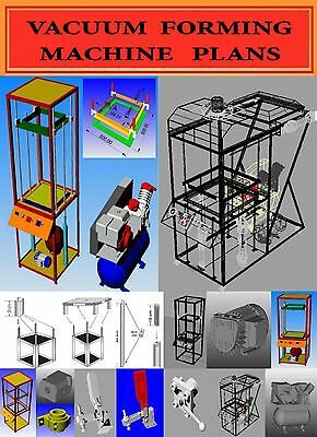 """HOW TO BUILD A VACUUM FORMING MACHINE """"PLANS"""""""
