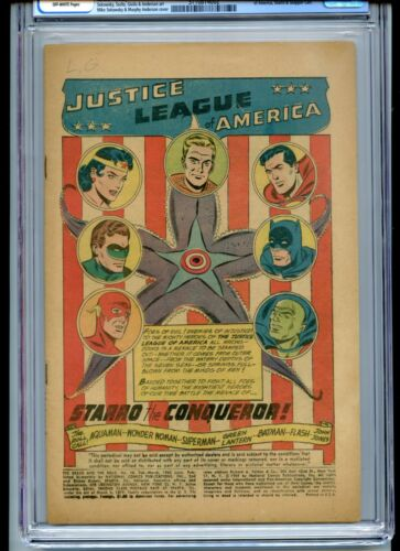 Brave and the Bold #28 CGC Coverless Off White 1st Justice League of America
