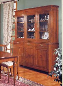 Credenza madia soggiorno salotto tinello in ciliegio 3 for Arredamento tinello soggiorno