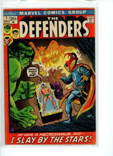 Defenders #1 VG/FN Stain on Upper Spine
