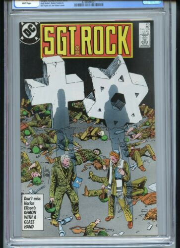 Sgt Rock #413 CGC 9.8 White Priest and Rabbi Chaplains