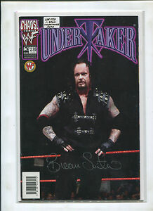 DF WWF/WWE UNDERTAKER SIGNED AND #ED TO 3000 (9.2)