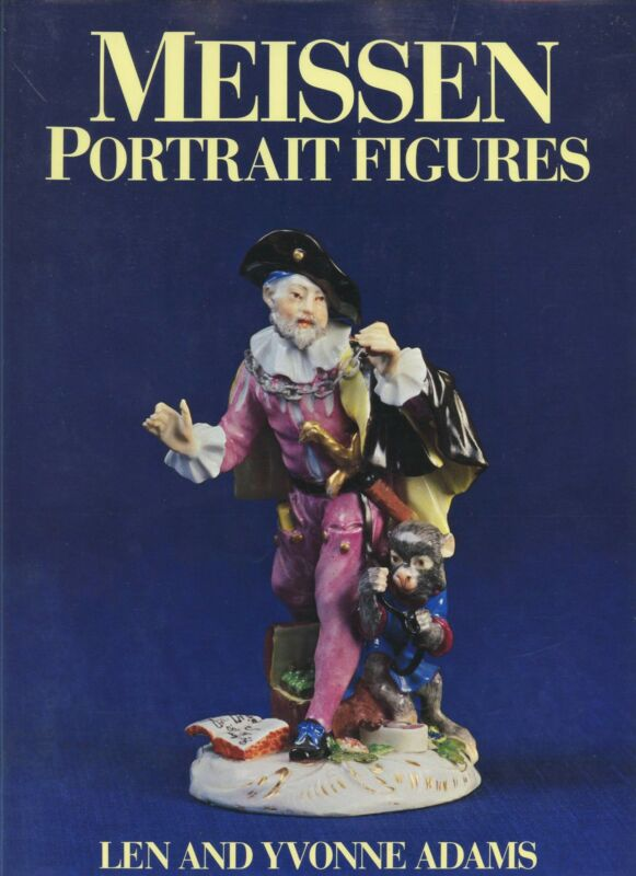 Antique Meissen Porcelain Portrait Figures -Models Designers Dates / Scarce Book