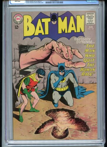 Batman #165 CGC 9.4 White Pages Infantino Cover