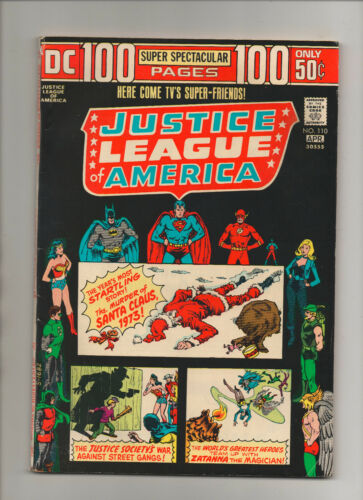 Justice League Of America #110 - 100 Page Super Spectacular - (Grade 7.0) 1974