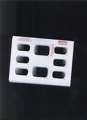 60 Dental X-ray Holders Eezeemount By Rinn Stock No 10-0924 Fit 50-0254 Envelope