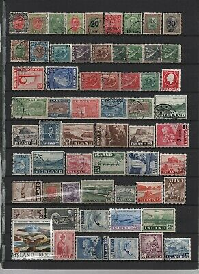 Iceland old used collection
