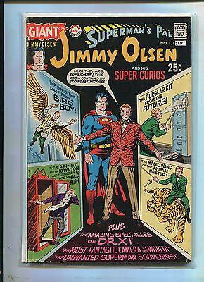 GIANT JIMMY OLSEN  #131 (5.0) STRANGEST TROPHIES!