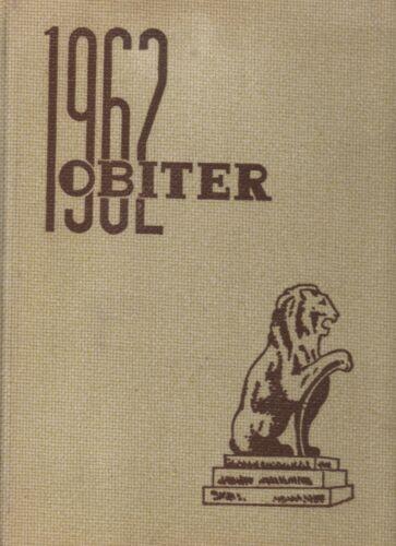 "1962 ""Obiter"" - Bloomsburg State College Yearbook - Bloomsburg, Pennsylvania +"