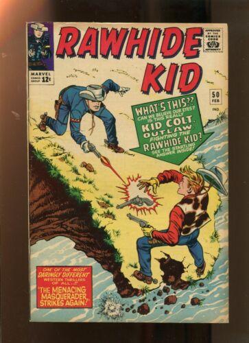 RAWHIDE KID #50 (7.5) VS KID COLT! 1966