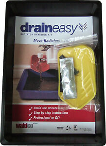 DrainEasy - Radiator Draining Kit  & Tool, Quick and Easy with No Mess, No Fuss