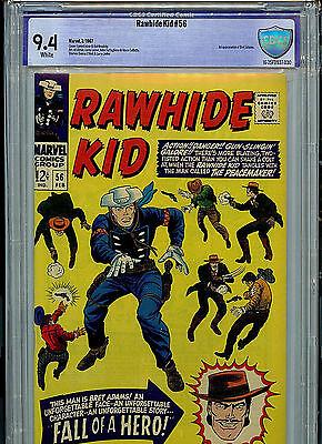 Rawhide Kid #56 CBCS 9.4 NM 1967 Comic Marvel Comics