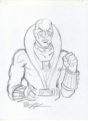 G.I. Joe Cobra Destro ORIGINAL PENCIL SKETCH by Tim Shinn