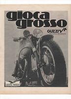 Pubblicità 1970 Moto Guzzi V7 Motor Italy Advertising Werbung Publicitè Reklame -  - ebay.it