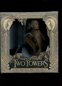 Lord-of-the-Rings-Two-Towers-Gollum-Collectors-DVD-Gift-Set-Magnet-Statue-Figure