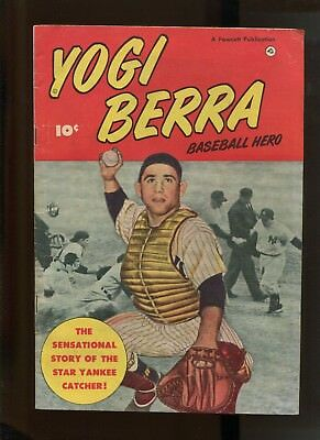 YOGI BERRA BASEBALL HERO #1 (5.0) SCARCE!