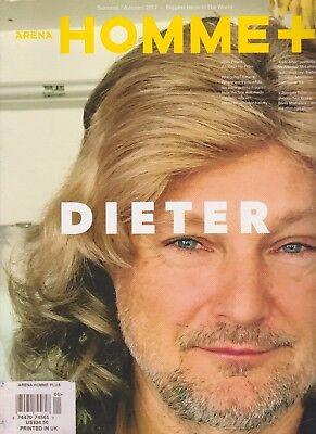 ARENA HOMME+MAGAZINE SUMMER/AUTUMN 2017, DIETER, 700+PAGES ALL KILLER NO FILLER.