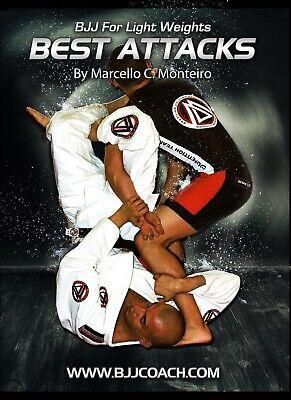 BJJ for Lightweights BEST ATTACKS  Instructional Jiu Jitsu DVD