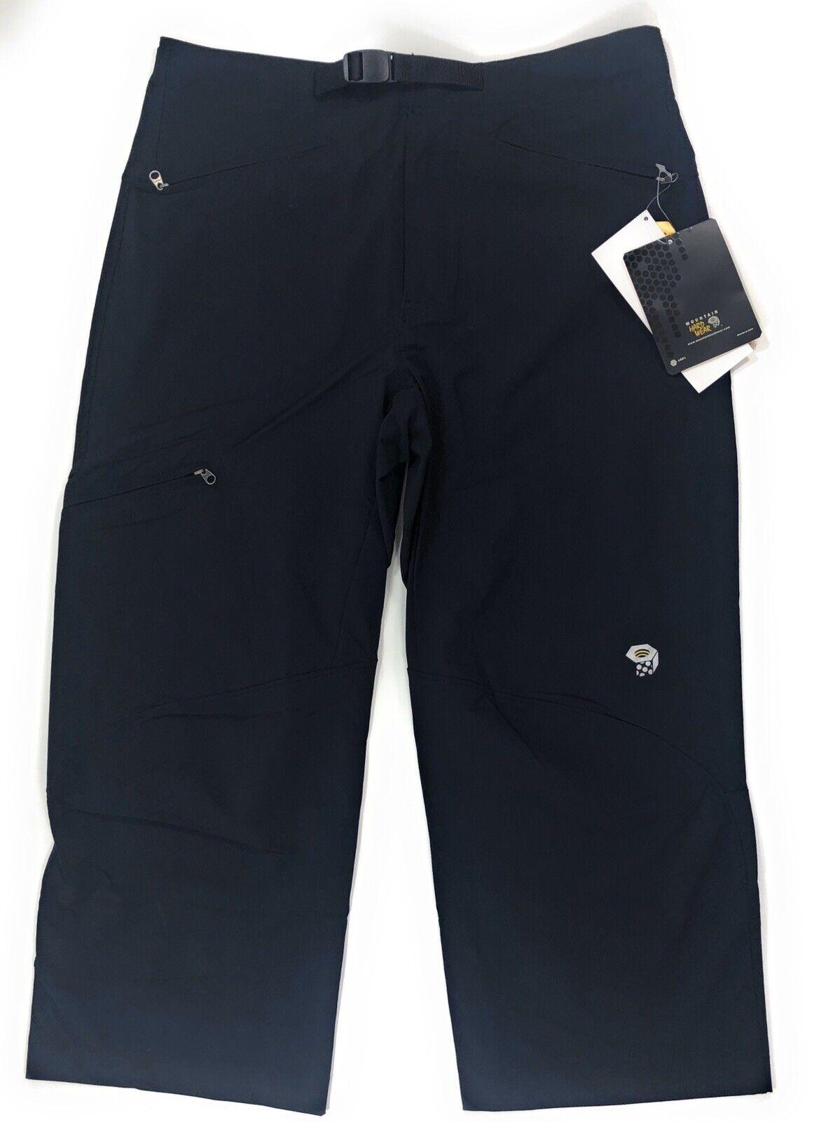 Mountain Hardwear Silcox 3/4 Pants Mens Small Outdoor Hiking