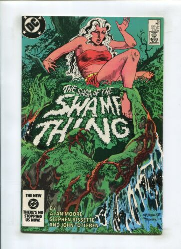 SWAMP THING #25 (8.0) *FISHERMAN* 1ST CAMEO OF CONSTANTINE 1984