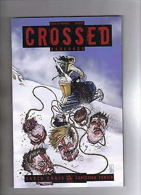 CROSSED: BADLANDS #50 MICHAEL DIPASCALE TROPHIES VARIANT COVER - 2014