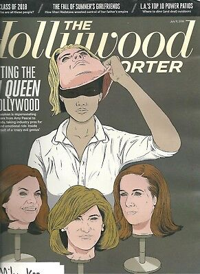 The Hollywood Reporter July 11 2018 Hunting The Con Queen of Hollywood Best Deal