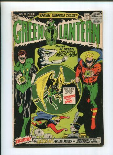 GREEN LANTERN #88 (7.0) 1972 SECRET OF MYSTIC OATH