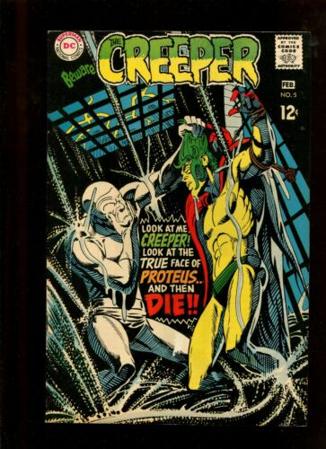 CREEPER #5 (7.5) THE COLOR OF RAIN IS DEATH!! 1969