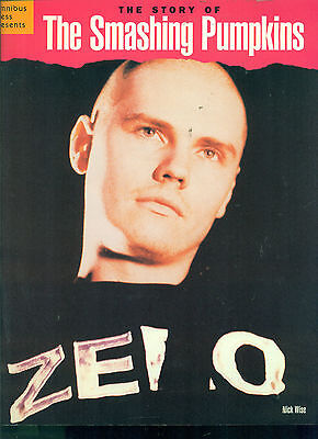 """SMASHING PUMPKINS """"THE STORY OF"""" BIOGRAPHY RARE OUT OF PRINT BOOK PICTURES/STORY"""