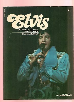 Elvis a tribute to King of Rock Hg. W.A. Harbinson Englisch 978044814638