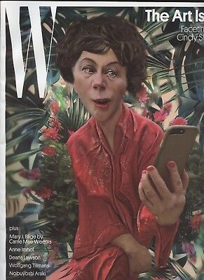 W Magazine Dec 2017  The Art Issue  Facetime With Cindy Sherman