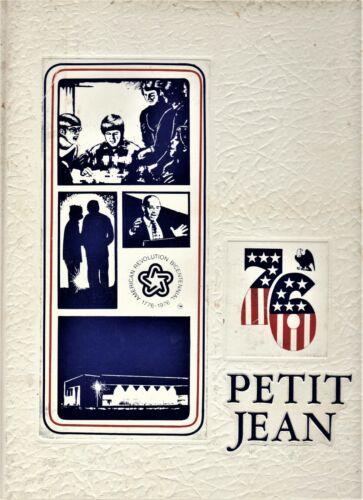 "1976 ""Petit Jean"" - Harding University Yearbook - Searcy, Arkansas"